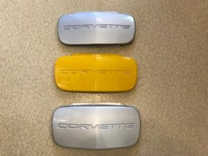 ALL 3 CORVETTE OEM LICENCE PLATE COVER(S) C5 1997-2004