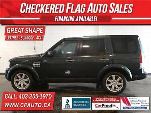 2011 Land Rover LR4-HD PACK-HEATED LEATHER-SUNROOF-4X4
