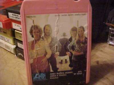 "8 TRACK TAPE ""ABBA"" [BJORN, BENNY, ANNA & FRIDA] WATERLOO 1974 ATLANTIC"