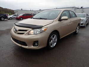 2011 Toyota Corolla LE Sedan 1 OWNER 100% ACCIDENT FREE