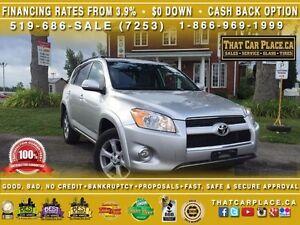 2012 Toyota Rav4 LIMITED-$83/Wk-RearCam-Roof-Lthr-Tint-Bluetooth