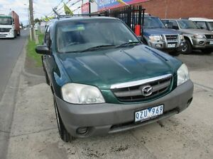 2001 Mazda Tribute Limited Green 4 Speed Automatic Wagon Tottenham Maribyrnong Area Preview