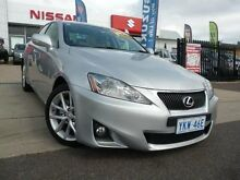 2011 Lexus IS250 GSE20R MY11 Prestige Silver 6 Speed Sequential Auto Sedan Phillip Woden Valley Preview