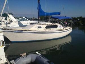 SPIRIT 28 wheel steer: 50-50 ownership: mid week sailing: INCOME