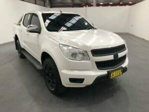 2014 Holden Colorado RG MY15 LTZ (4x4) White 6 Speed Manual Crew Cab Pickup Fyshwick South Canberra Preview