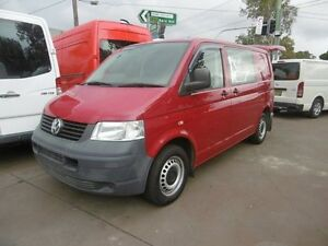 2009 Volkswagen Transporter T5 MY08 (SWB) Red 5 Speed Manual Van Yagoona Bankstown Area Preview
