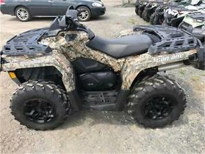 2013 CAN-AM OUTLANDER 1000 XT PS ! Low mileage great bike!