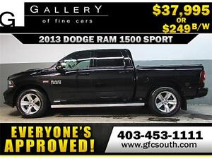 2013 DODGE RAM SPORT CREW **EVERYONE APPROVED** $0 DOWN $249/BW!