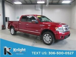 2014 Ford F-150 Platinum S/Crew 4X4 Navigation