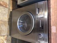 SMEG Stainless Steel Washer Dryer