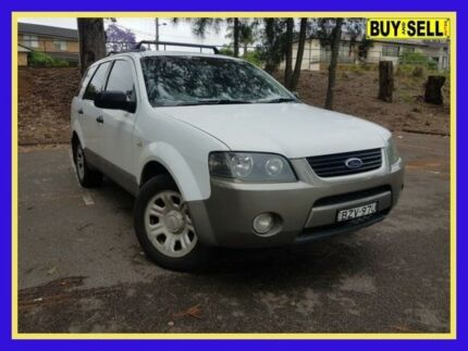 2004 Ford Territory SX TX White Sports Automatic Wagon Lansvale Liverpool Area Preview