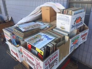 Huge selection of music records