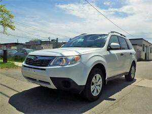 09 SUBARU FORESTER X PREMIUM AWD! LOW KM! CERTIFIED!