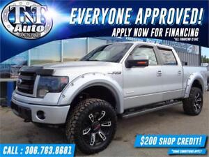 2014 Ford F-150 FX4 SuperCrew 4X4-LEATHER-NAV-SUNROOF-APPLY NOW!