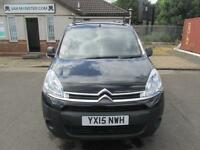 Citroen Berlingo 1.6 Hdi 625Kg Enterprise 75Ps DIESEL MANUAL BLACK (2015)