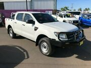 2013 Ford Ranger PX XL 3.2 (4x4) White 6 Speed Manual Dual Cab Utility Dubbo Dubbo Area Preview
