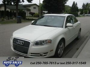 2006 Audi A4 3.2 Quattro 6 speed-rare-low km!