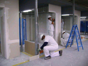 Drywall-Floor-Tape-Painting and Texture Works