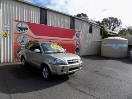 2008 Hyundai Tucson 08 Upgrade City SX Gold 4 Speed Automatic Wagon West Gosford Gosford Area Preview