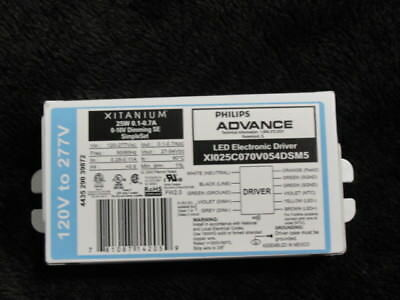 Philips Advance XI050C100V054DNM1 50W 0-10V Dimming LED Driver **Free Shipping**