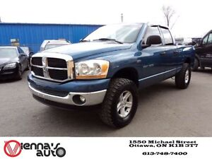 2006 Dodge Ram 1500 SLT 4x4 Quad Cab 160.5 in. WB