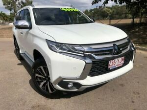 2018 Mitsubishi Pajero Sport QE MY19 Exceed White 8 Speed Sports Automatic Wagon Townsville Townsville City Preview