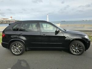 2012 BMW X5 E70 MY12.5 M50d Steptronic Black 8 Speed Sports Automatic Wagon West Melbourne Melbourne City Preview