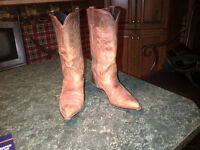 For Sale Cowboy boots and hats, jewellry, fur coat