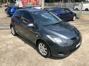 2008 Mazda 2 DE Series 1 MaXX Hatchback 3dr Auto 4sp 1.5i Grey Automatic Hatchback Bass Hill Bankstown Area Preview