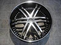 """Kit roues de mag avec pneus neufs 22"""" #M22"""