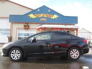 Honda  Civic LX 2012 * MANUELLE * FULL ÉQUIPE * 418-932-6595 !