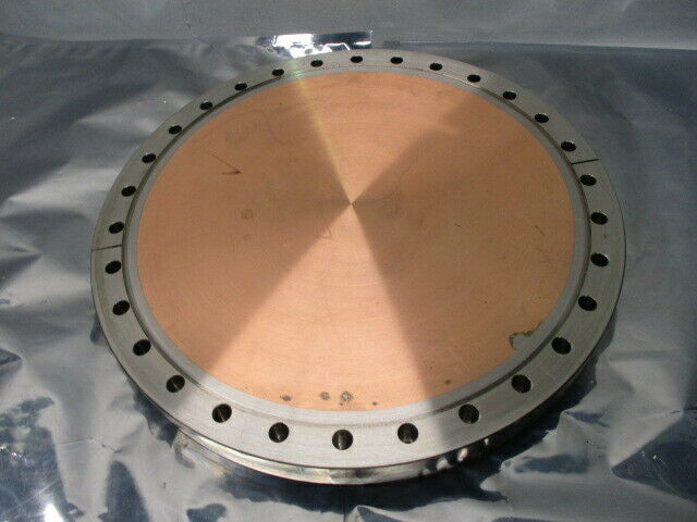 Blank Off Pumping Flange Cover Pumping Port, Gate Valve, Turbo, High VAC, 100988