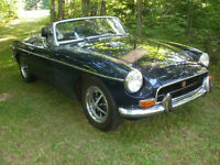 1972 MGB Convertible (chrome bumpers)