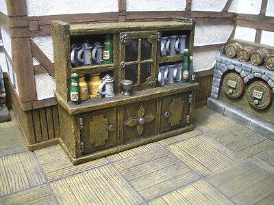 Tavern Cupboard Unpainted Resin Thomarillion Terrain Dwarven Forge D&D