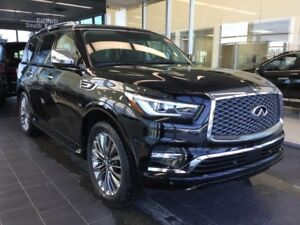 2018 Infiniti QX80 8 PASSENGER W/ TECHNOLOGY PACKAGE
