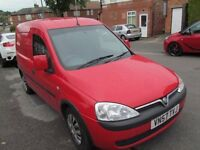 VAUXHALL COMBO VAN 57 PLATE IN RED MOT TILL NEXT YEAR