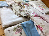 x 14 vintage style wedding/event table cloths available for a four day loan.