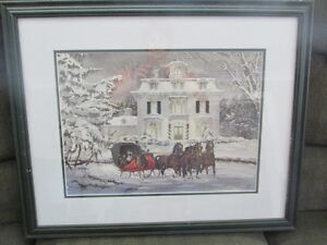 WALTER CAMPBELL SIGNED PRINT