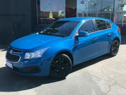 2014 Holden Cruze EQUIPE JH MY14 5D HATCHBACK 1.8L INLINE 4 6 SP AUTOMATIC Blue Automatic Hatchback Como South Perth Area Preview