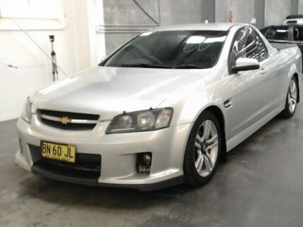 2008 Holden Commodore VE SV6 Silver 5 Speed Automatic Utility Beresfield Newcastle Area Preview