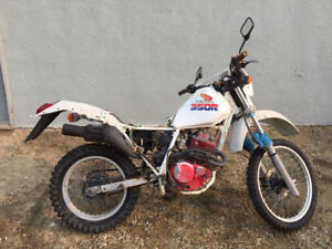 1986 HONDA XL350R FOR PARTS
