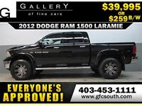 2012 RAM LARAMIE LIFTED *EVERYONE APPROVED* $0 DOWN $259/BW!