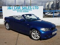 BMW 1 SERIES 3.0 125I SE 2d AUTO 215 BHP LOW MILES WITH FSH 6 S (blue) 2009