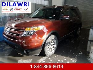 2015 Ford Explorer Limited *** ONLY 28 000 KM ! 1 OWNER ! LEATHE