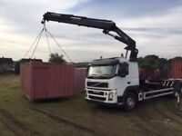 Hiab / Crane hire / haulage / container / slabs / wall panels