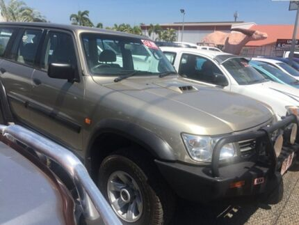 2004 Nissan Patrol Y61 ST Gold 4 Speed Auto Active Select Wagon