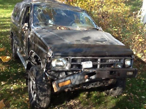 1988 Toyota 4x4 Parts or Whole