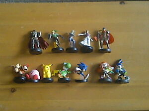 Various amiibos for sale