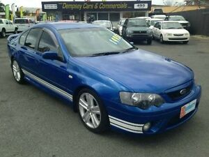 2005 Ford Falcon BF XR6 Turbo Blue Semi Auto Sedan Greenslopes Brisbane South West Preview
