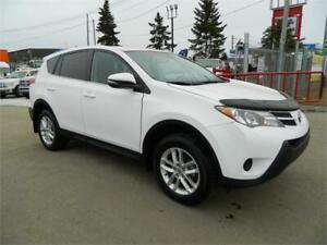 2014 TOYOTA RAV4 LE /ALL WHEEL DRIVE/ONLY 81000KMS